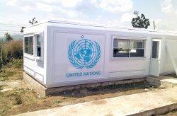 Karmod táborok Nigérian az ENSZ békefenntartói számára