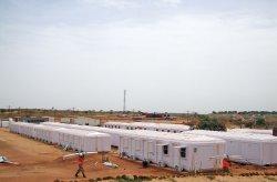 A Senegall adminisztrációs épületének telepítése befejeződött